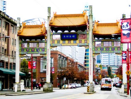 El jardín chino de Chinatown