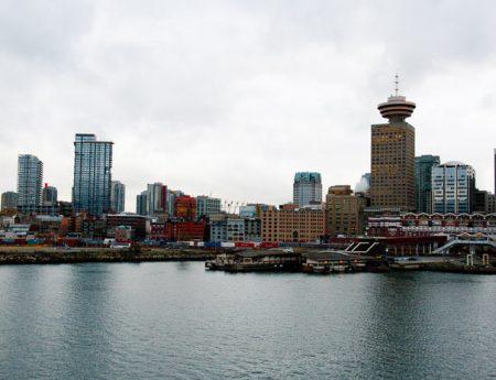 Vancouver a vista de pájaro