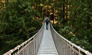 El puente colgante de Lynn Valley