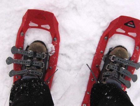 Snowshoeing en Cypress Mountain