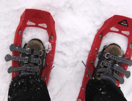 Snowshoeing en Cypress Mountain