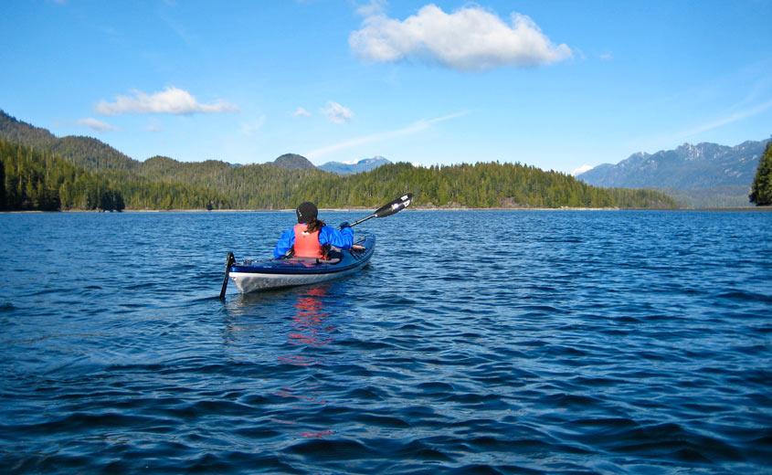 Vancouver  Island Kayak