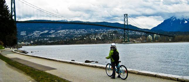 Vancouver bici Stanley Park
