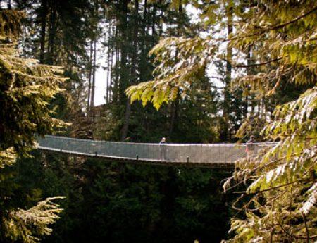 Capilano Suspension Bridge, el otro puente colgante de Vancouver