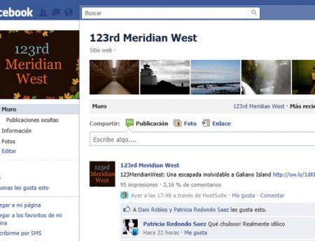 ¡123rd Meridian West ya tiene página en Facebook!