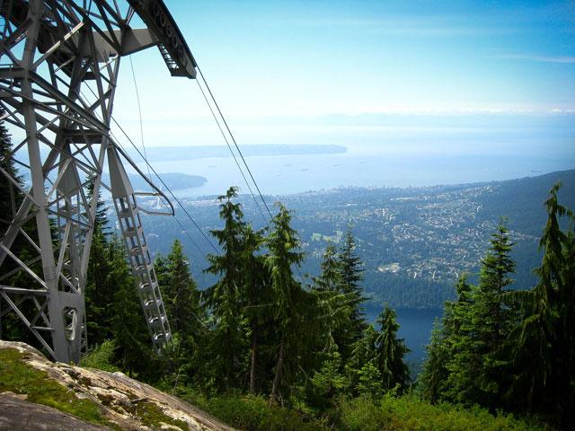 Vancouver desde Grouse Mountain