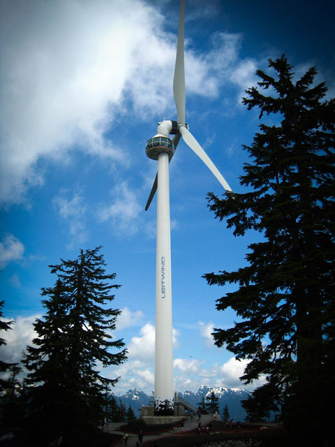 The Eye of the Wind, Grouse Mountain
