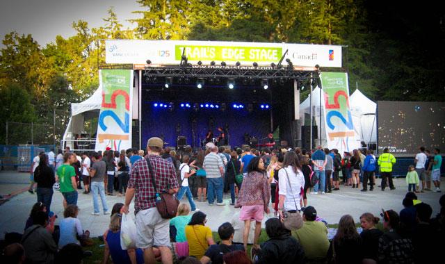Summer Live Stanley Park Vancouver