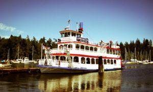 Paseo en barco por el puerto de Vancouver
