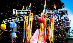 Celebrando el orgullo gay en Vancouver