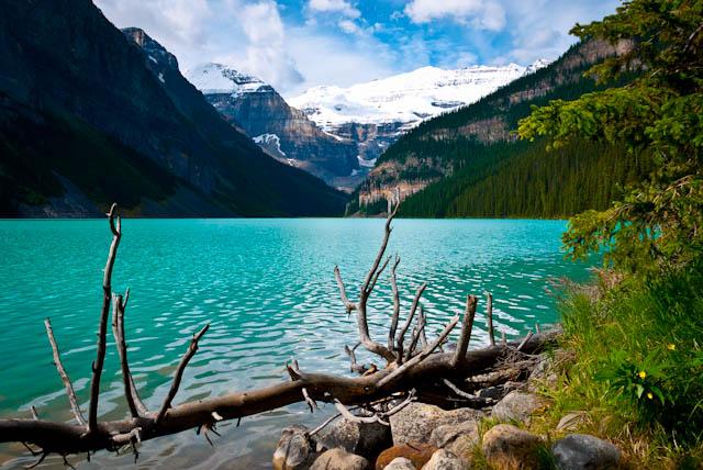 Lago Louise. Alberta, Canadá.