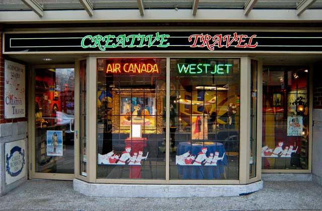 Agencia de viajes Creative Travel, Vancouver