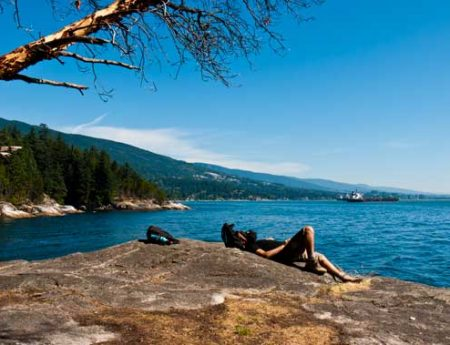 Lighthouse Park, excursiones cortas desde Vancouver