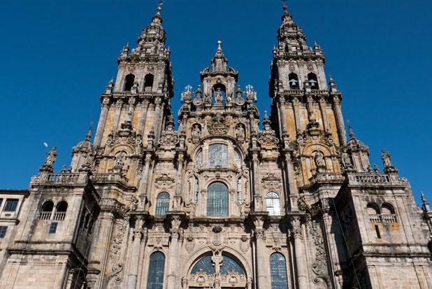 Cathedral of Santiago de Compostela, Galicia.
