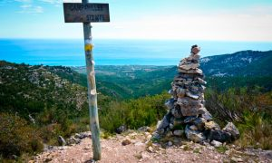 Trekking in Alcossebre: the top of Campanilles