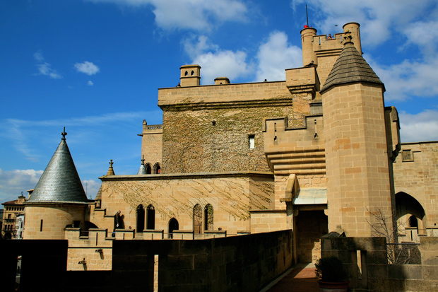Royal Palace of Olite, Navarra.