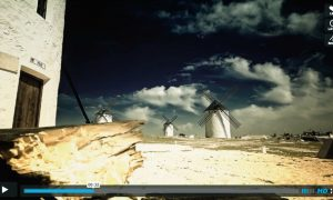 Time lapse vídeo: central highlands of Spain.
