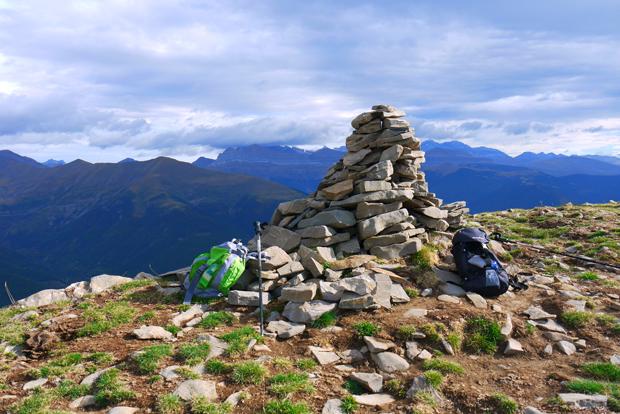 Ascensión al pico Pelopín. Pirineos aragoneses.