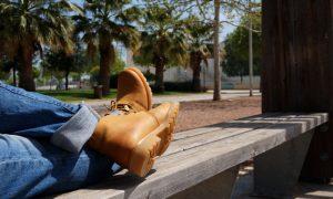 Como una niña con botas nuevas…