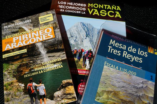 Senderismo en los Pirineos Aragonés y vasco. Sua Ediciones