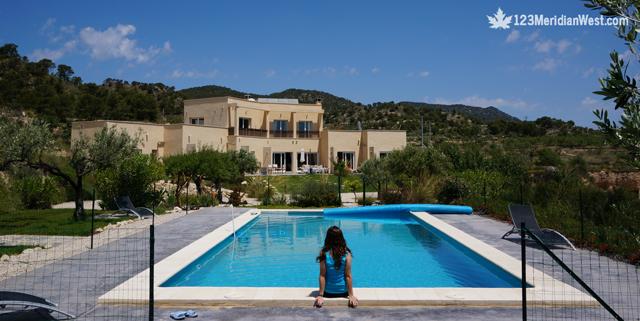 Casa rural Finca El Pao, piscina. Jijona