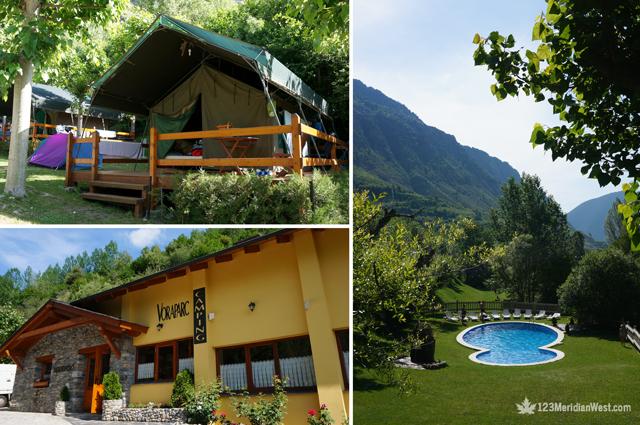 Camping Vora Parc Pirineo Lleida