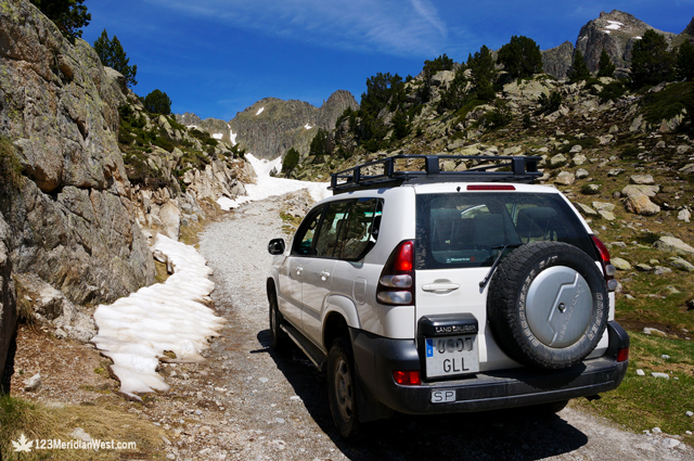 Taxis 4x4 Estany Sant Maurici Amitges