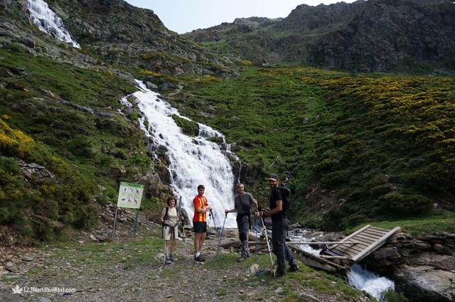 Cascada ruta els Tres Estanys, Pirineo Catalán Lleida