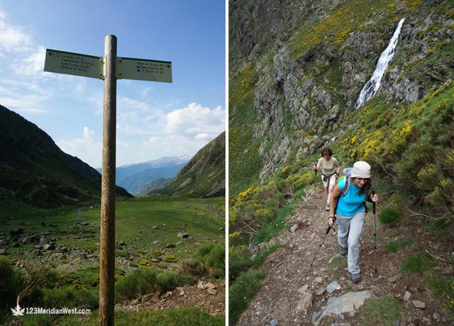 Subida ruta els Tres Estanys, Pirineo Catalán Lleida
