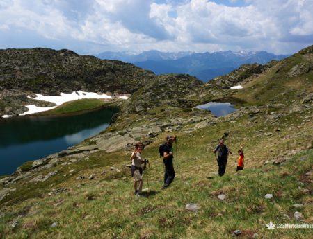 De ruta en Els Tres Estanys, Pirineo de Lleida