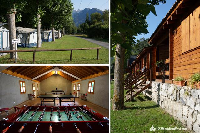 Servicios Nou Camping Pirineo Catalán, Lleida. La Guingueta d'Àneu