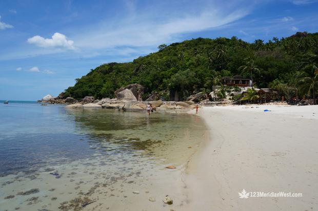 Koh Samui, playas del sur de Tailandia