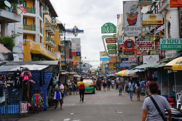 Kao San, Bangkok, Tailandia