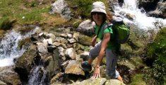 Equipo de senderismo para aspirantes a montañeros de pro