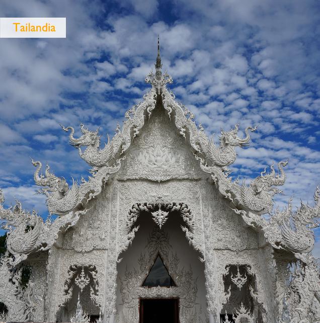 Tailandia Chiang Rai Templo blanco