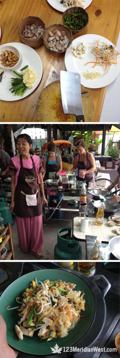 Curso cocina tailandesa Chiang Mai