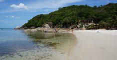 Sol, playas y cocos en Koh Samui, Tailandia