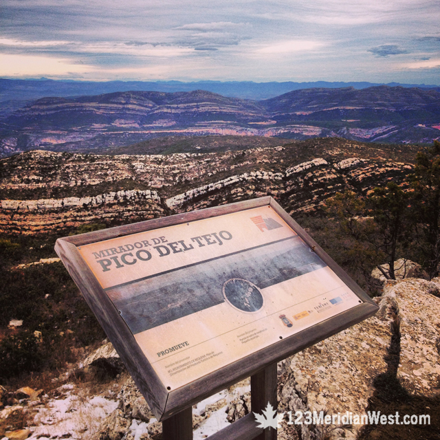 Pico del Tejo, Requena, Valencia
