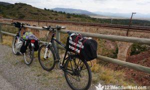 Vía verde Ojos Negros en bici: de Barracas a Valencia.