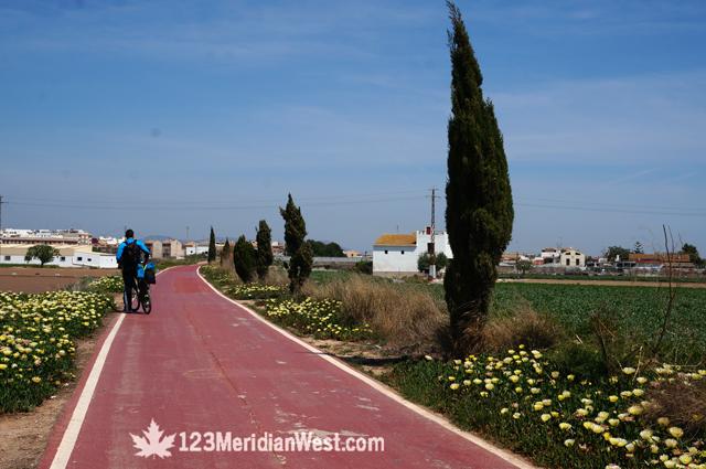 Via Xurra. Puçol a Valencia en bici