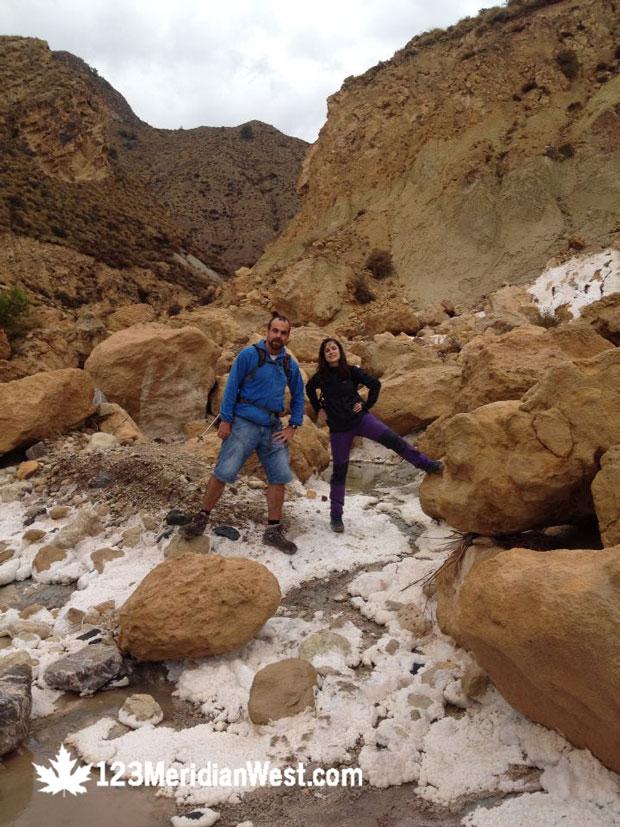 Manolo Larrosa y Lola Buendía. Blogueros de viajes.