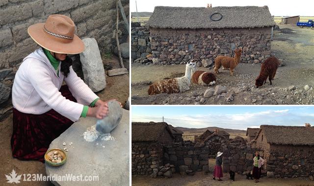 poblado peruano altiplano Puno