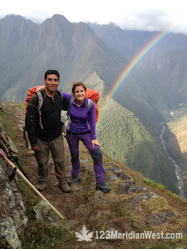 Camino Inca. Intipata. Lola Buendía. Guía turístico Víctor Paco, Camping Tours