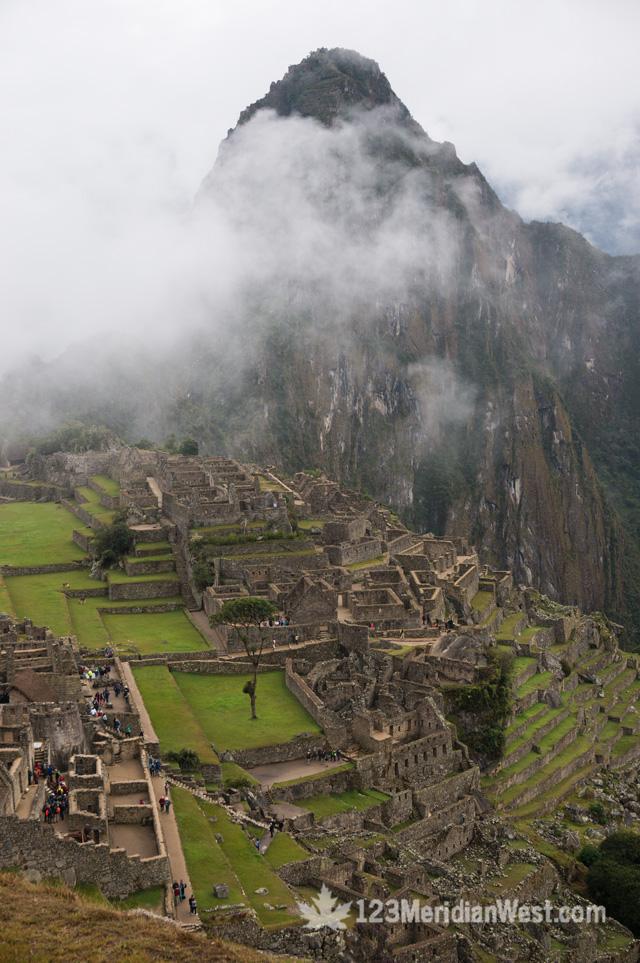 Machu Picchu desde el Camino Inca