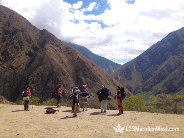 Día 1 Camino Inca