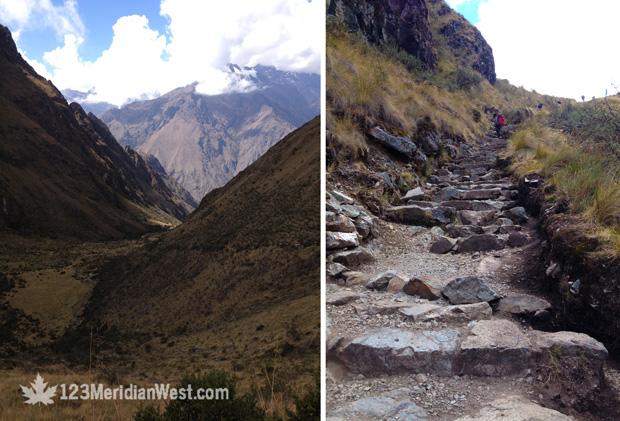 Paso de la Mujer Muerta, Camino Inca