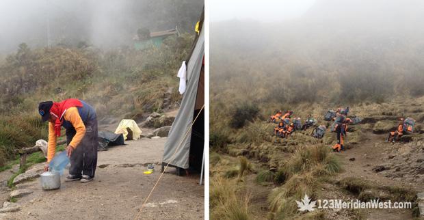 Porteadores Camping Tours, Camino Inca