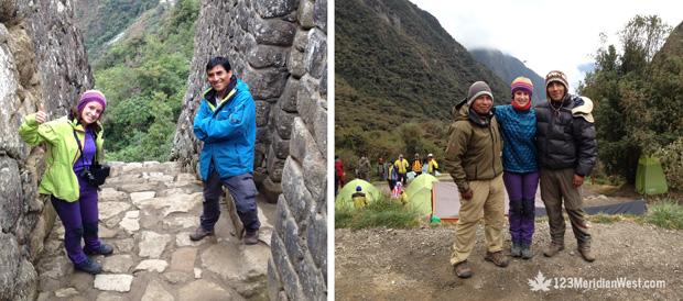 Guías Camino Inca Camping Tours