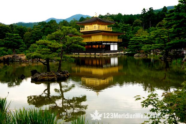 Templo de Oro, Kioto, Japón