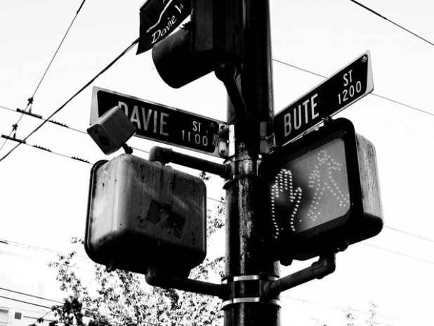 Davie at Bute Street, Vancouver, Canada